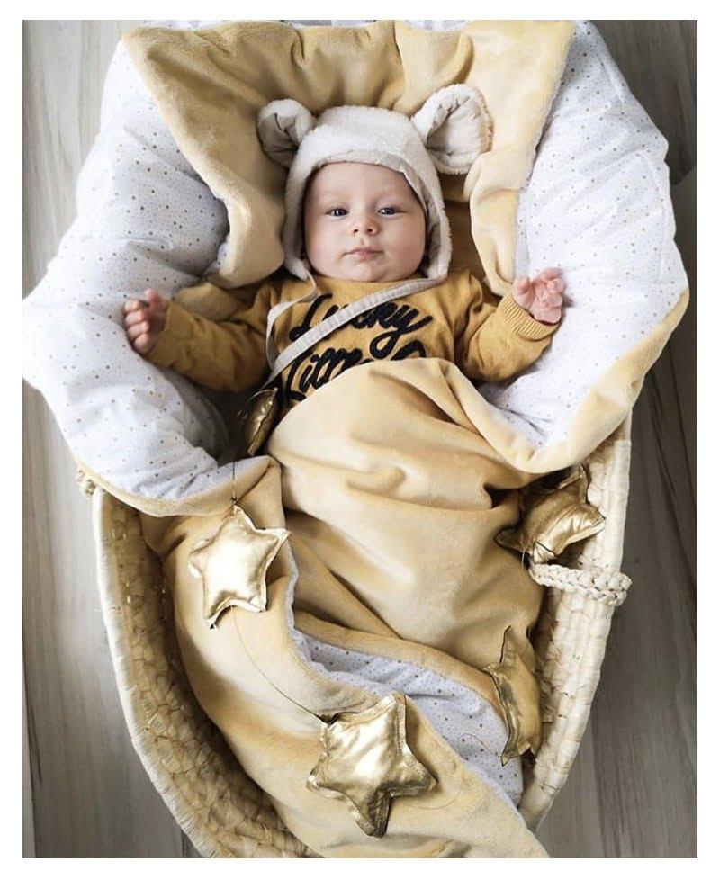 Odejica za dojenčke - GOLDEN-765