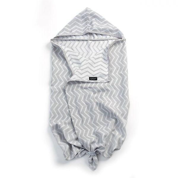 Brisača s kapuco - Silver Grey-0