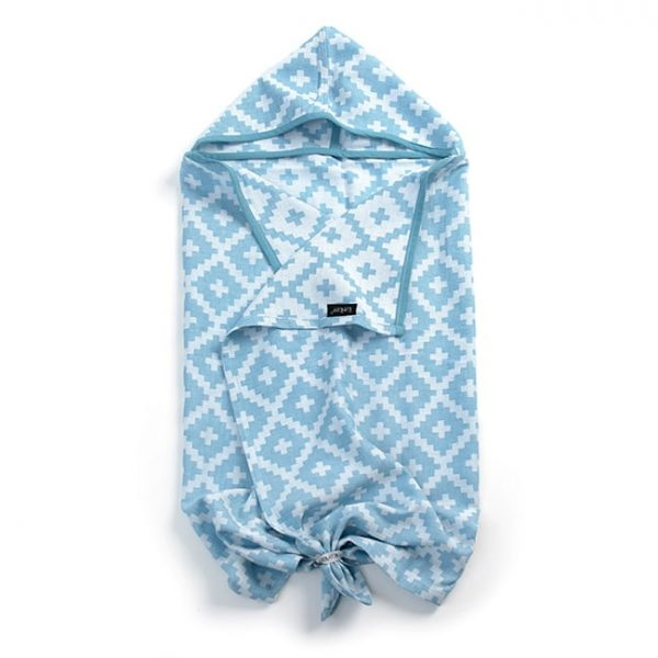 Brisača s kapuco - Niagara Blue-0