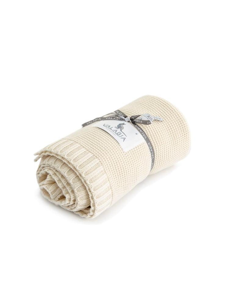 Bambusova odeja 100x80 cm – vanilija-944