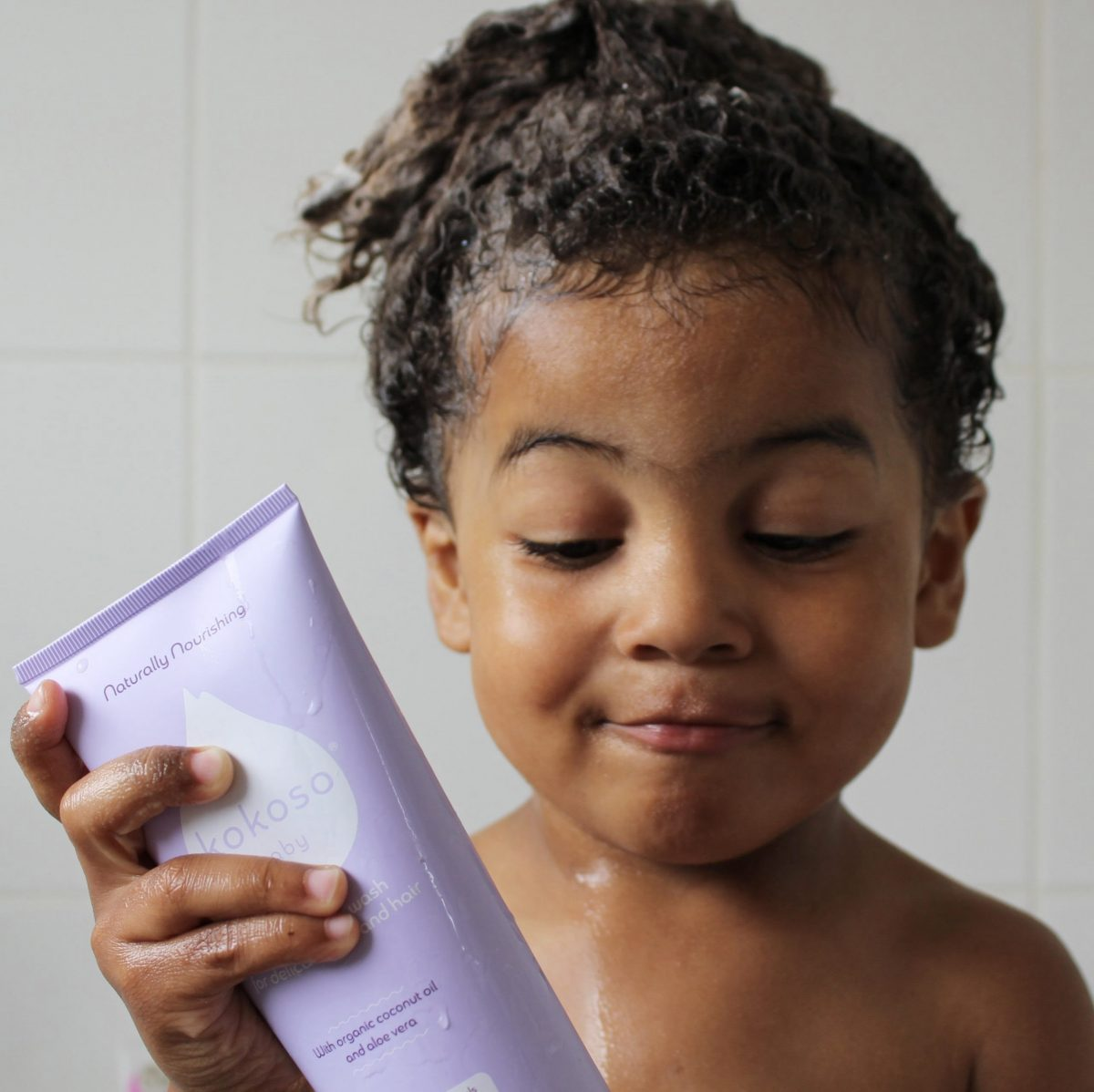 Gel za umivanje las in telesa - brez vonja-1095