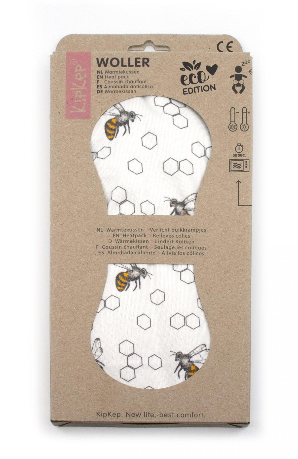 ECO grelec za krče KipKep Wooler - Bee special edition-1277