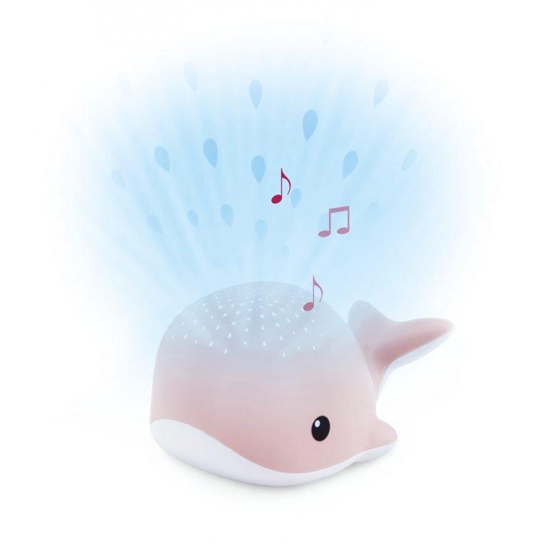 Glasbeni projektor kit Wally - roza-0