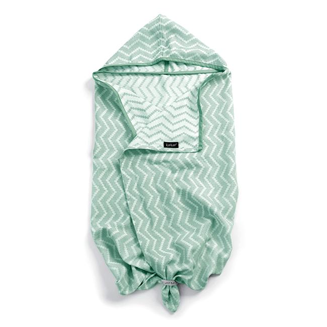 Brisača s kapuco - Calming Green-0
