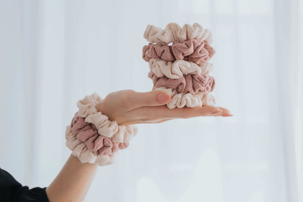 MOMMY SCRUNCHIES - Blue branches-1791