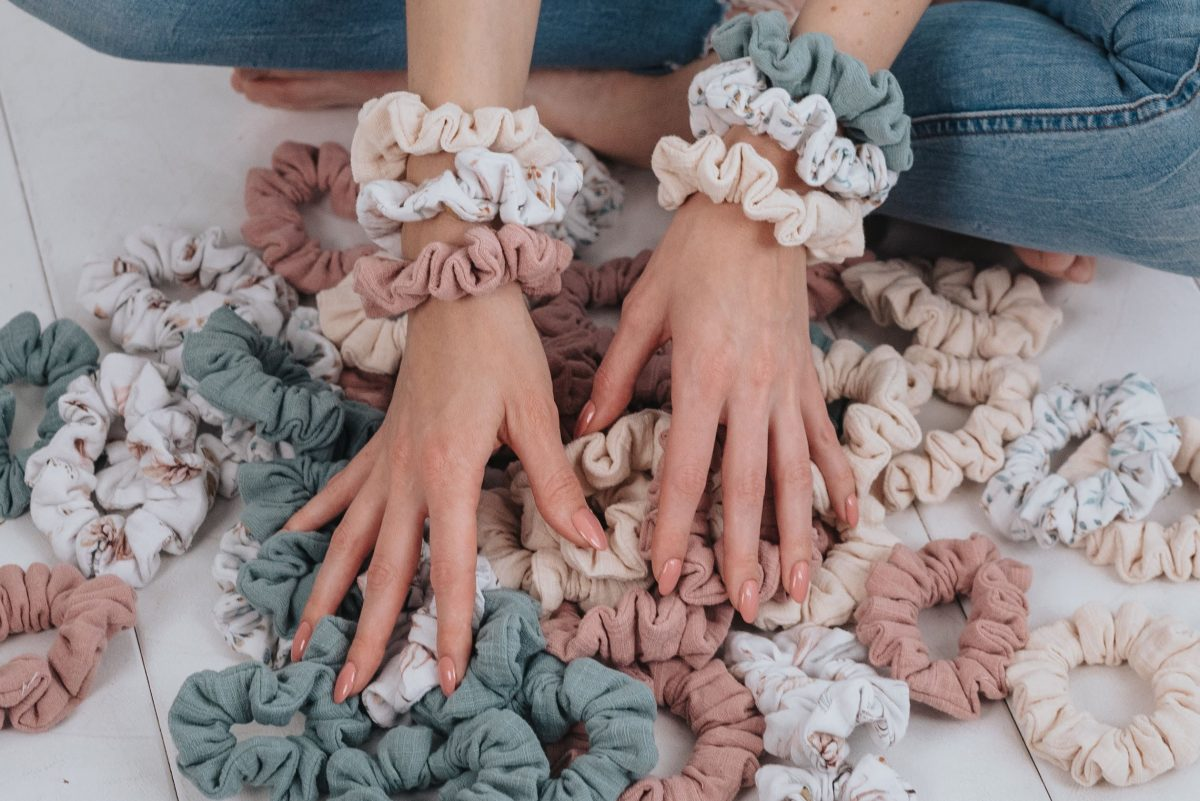MOMMY SCRUNCHIES - Rose-1805