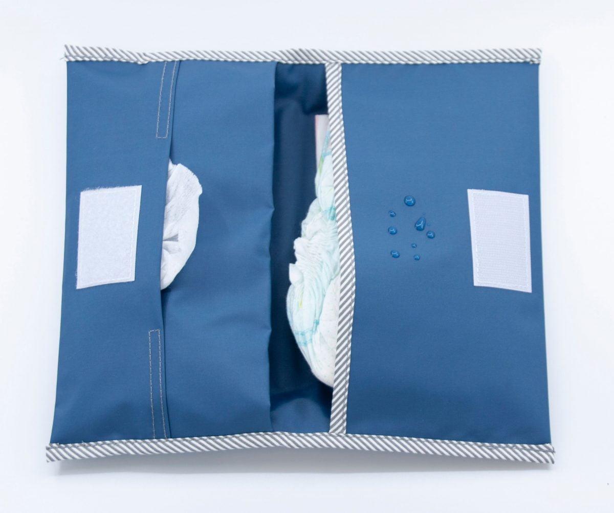 Set za previjanje - Denim Blue-1855