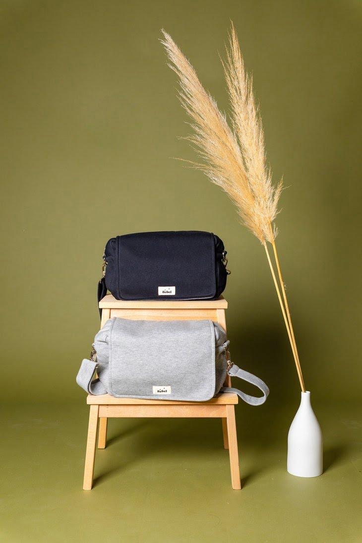 Previjalna torba MINI JERSEY Black-1974
