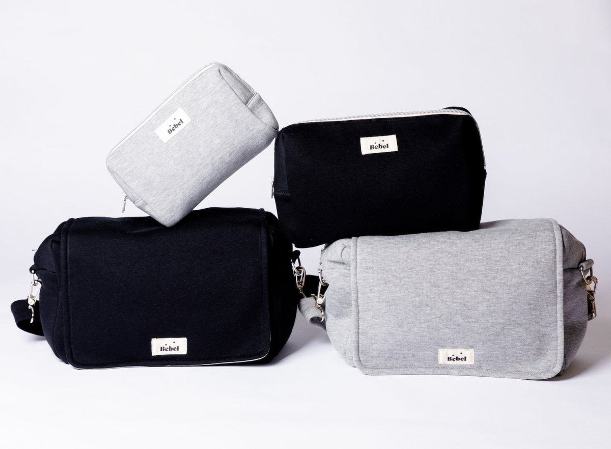 Previjalna torba MINI JERSEY Grey-1979