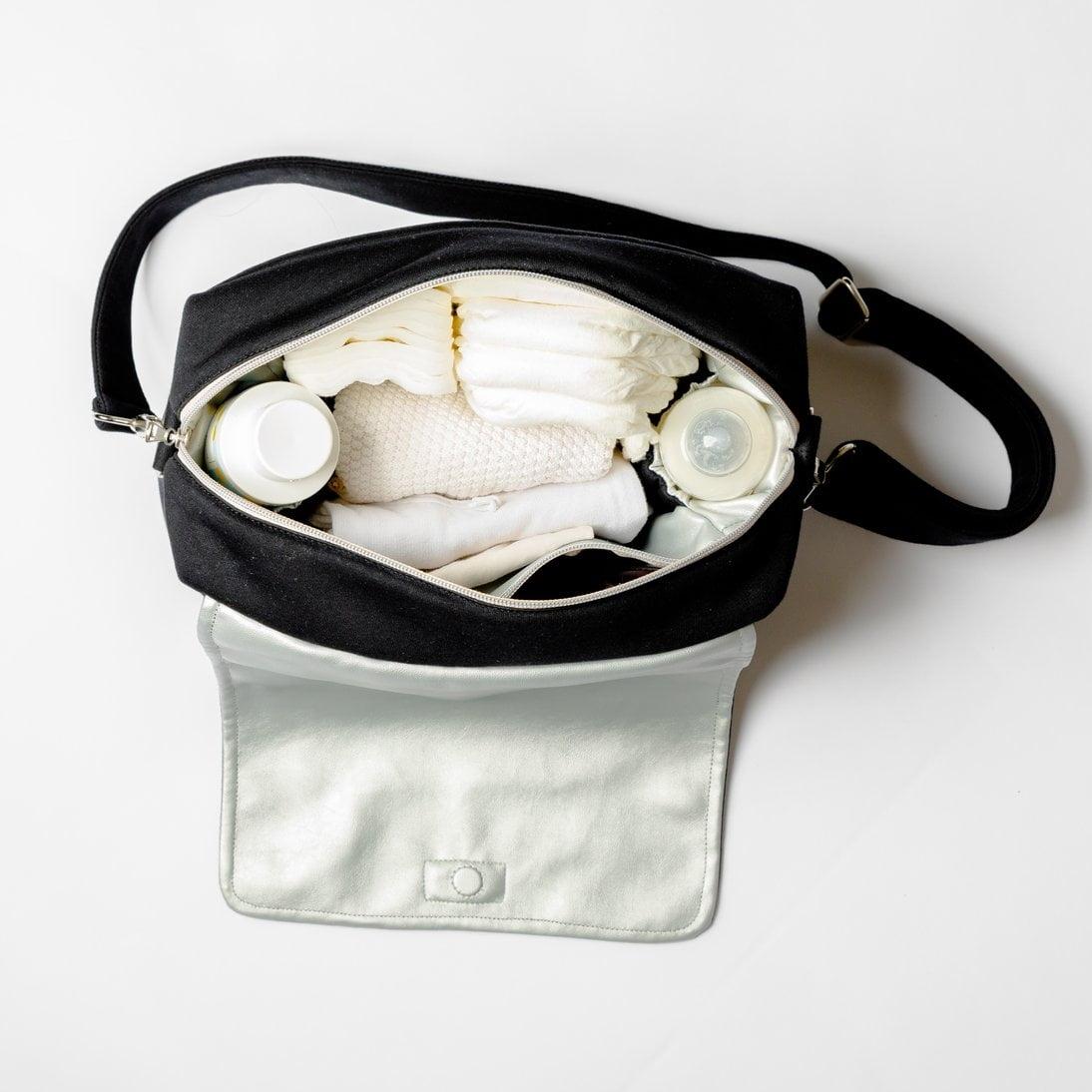 Previjalna torba MINI JERSEY Black-1975