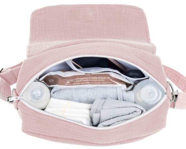 Previjalna torba MINI Powder Pink-1984